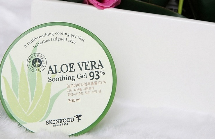 skinfood aloe vera soothing gel review