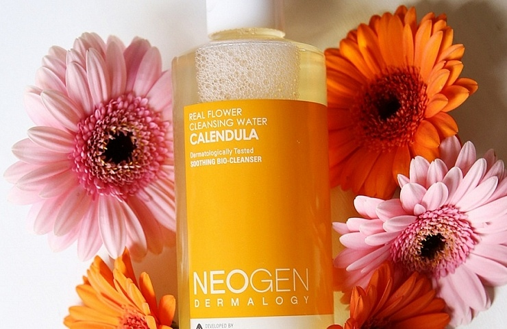 neogen dermalogy real flower cleansing water calendula review