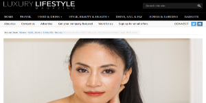 luxury lifestyle magazine column small
