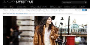 luxury lifestyle magazine pollution small