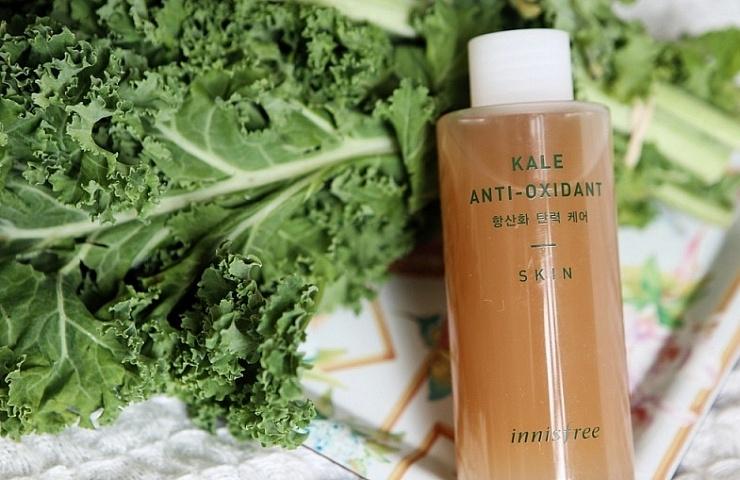 innisfree kale antioxidant skin