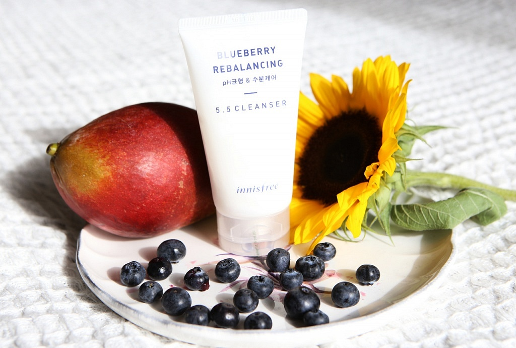 innisfree blueberry rebalancing cleanser