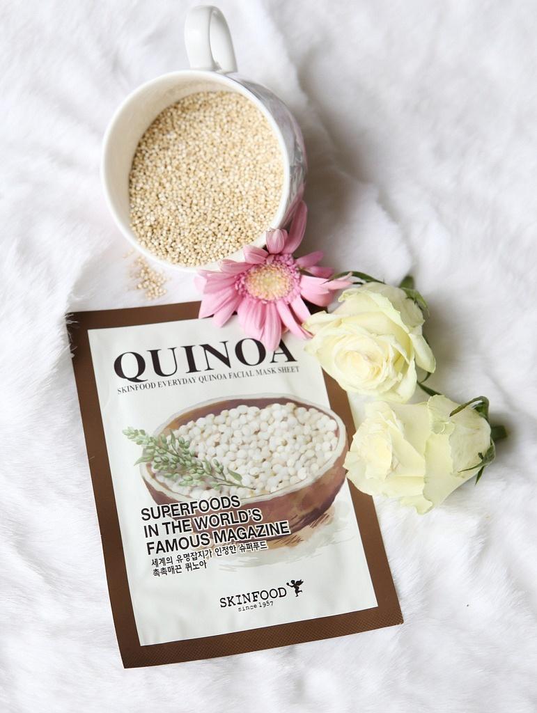 skinfood everyday quinoa mask sheet