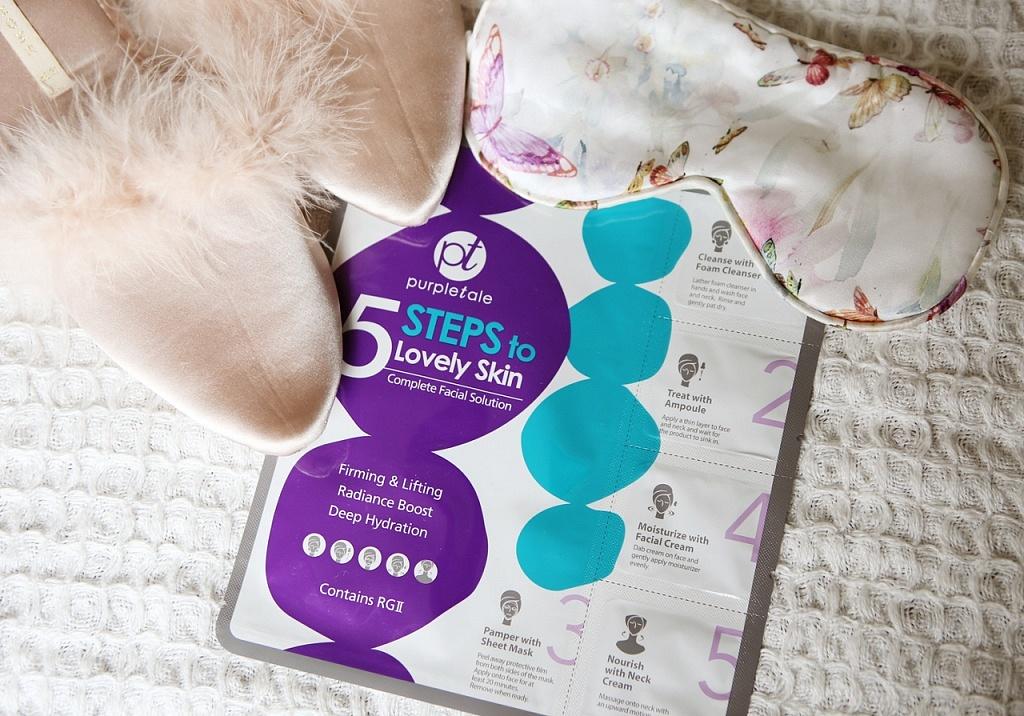 purpletale 5 steps to lovely skin