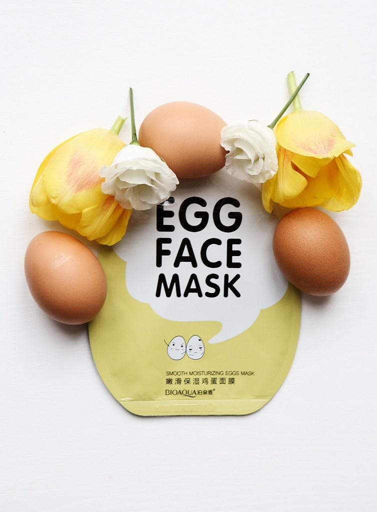 bioaqua egg face mask