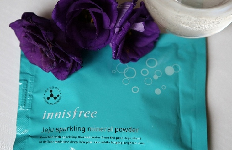innisfree jeju sparkling mineral powder review