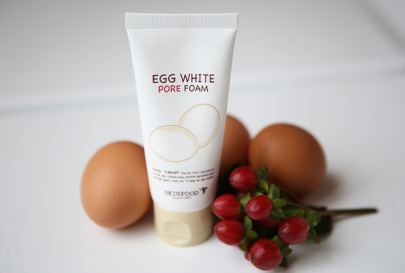 skinfood egg white pure foam