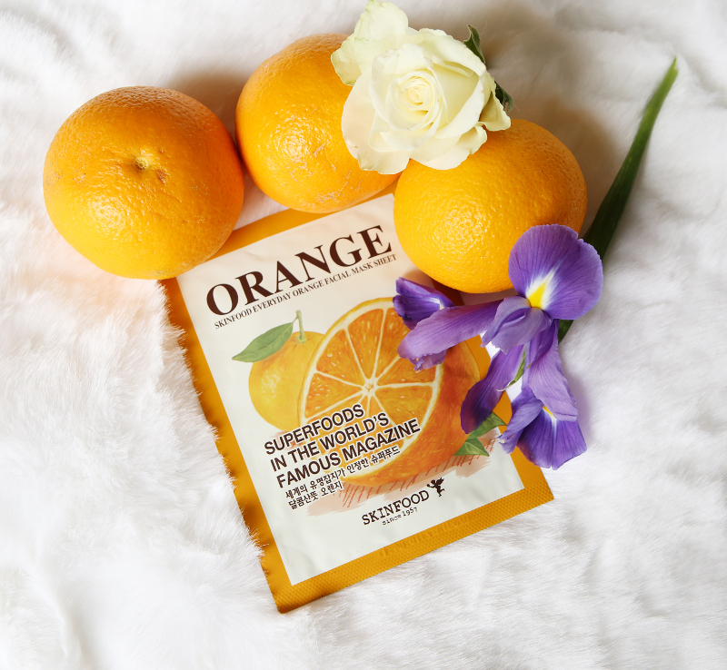 Come orange facial mask güzellllllllllll