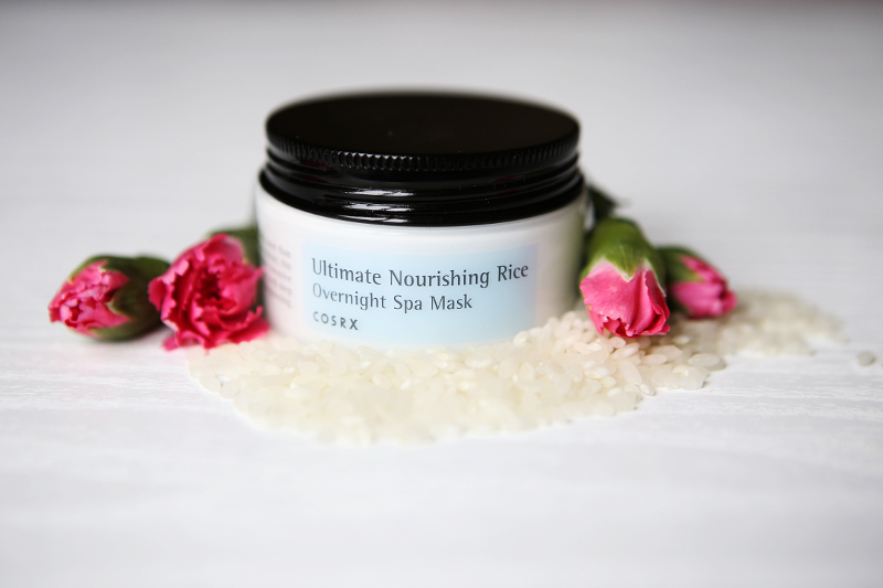 corsx ultimate nourishing rice overnight spa mask