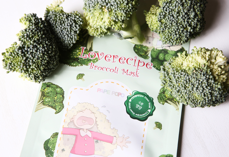 sally's box love recipe broccoli mask