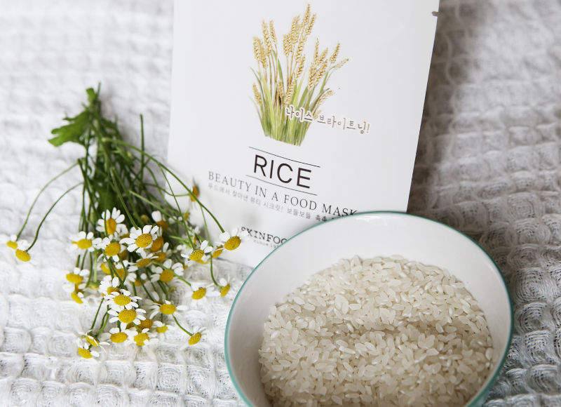 skinfood beauty in a food sheet mask rice