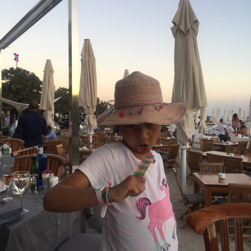 blue marlin ibiza with children